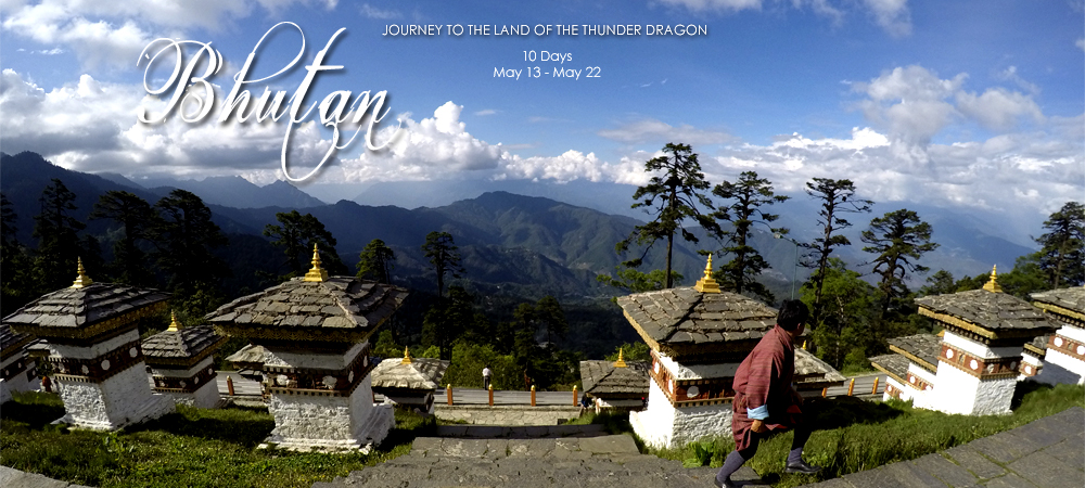 Curated tour of Bhutan
