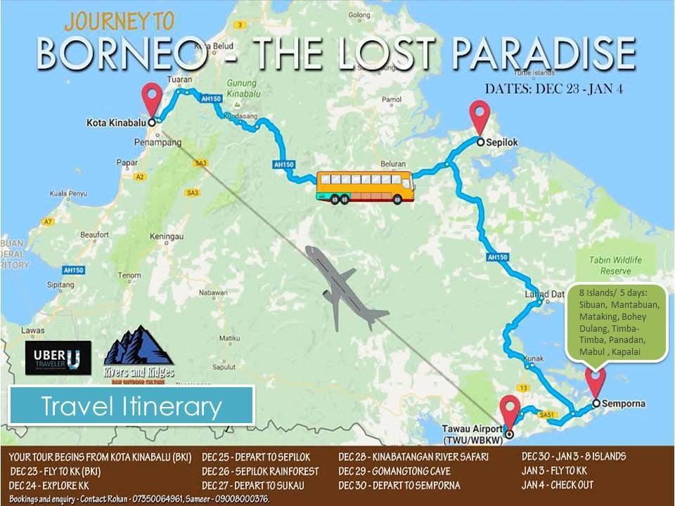 Journey to the Borneo - The lost Paradise